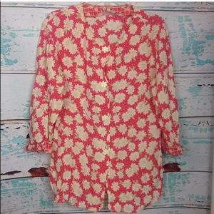 Vintage Mark Fore Strike Floral Button Down Shirt